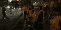 Pelanggar PSBB Di Tangerang Dihukum