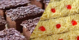 Cake Potong Topping Meses Dan Keju
