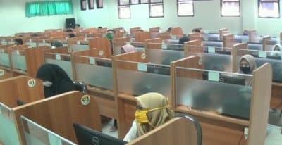 11 Ribu Orang Ikut Ujian Masuk Perguruan Tinggi Negeri