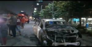 Mobil terbakar/reporter-channel.com