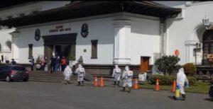 Gedung Sate Bandung, Jawa Barat Ditutup