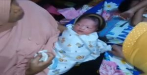 KPAID & Aparat Desa Larang Orang Jenguk Wanita Lahirkan Bayi Tanpa Hamil