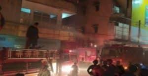4 Petugas Pemadam Kebakaran Terluka Saat Berusaha Memadamkan Api