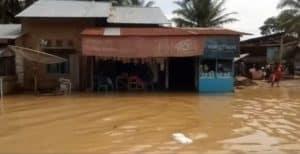 Puluhan Rumah di Kabupaten Lima Puluh Kota Terendam Air