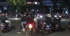 Balap Liar Yang Serang Pengguna Jalan Pakai Panah Dibubarkan Polisi