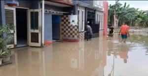 Banjir di Bekasi Sampai 1,7 Meter