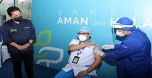 Di Dukung Kementerian BUMN, Petamedika IHC Komitmen Sukseskan Vaksinasi Covid -19