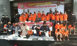 Polisi Ringkus 36 Pelaku Curanmor Pakai Senpi
